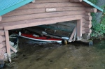 Boat house Before