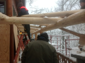 fitting rafters 3